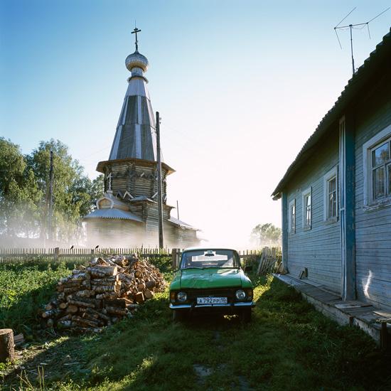 Деревянное зодчество, фото Ричарда Дэвиса