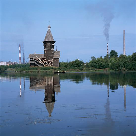 Деревянные церкви России, фото Ричарда Дэвиса